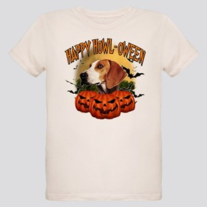 Happy Halloween Foxhound Organic Kids T-Shirt