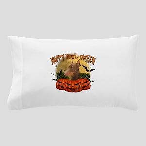 Happy Halloween Doberman Pillow Case