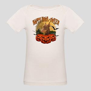 Happy Halloween Doberman Organic Baby T-Shirt