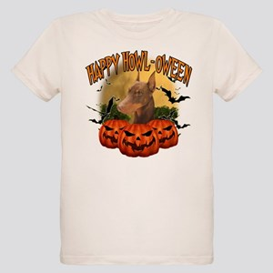Happy Halloween Doberman Organic Kids T-Shirt