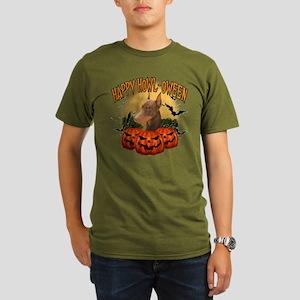 Happy Halloween Doberman Organic Men's T-Shirt