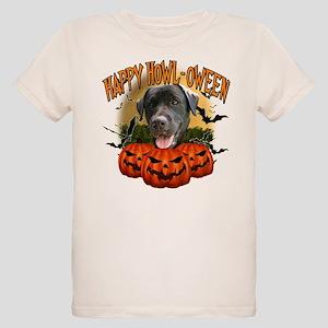 Happy Halloween Black Lab Organic Kids T-Shirt