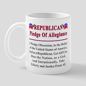 Republican Pledge Mug