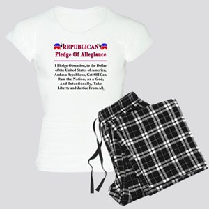 Republican Pledge Women's Light Pajamas