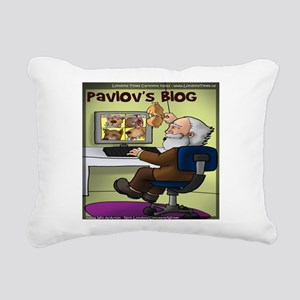 Pavlovs Blog Rectangular Canvas Pillow