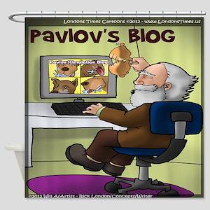 Pavlovs Blog Shower Curtain