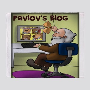 Pavlovs Blog Throw Blanket