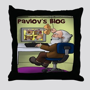 Pavlovs Blog Throw Pillow