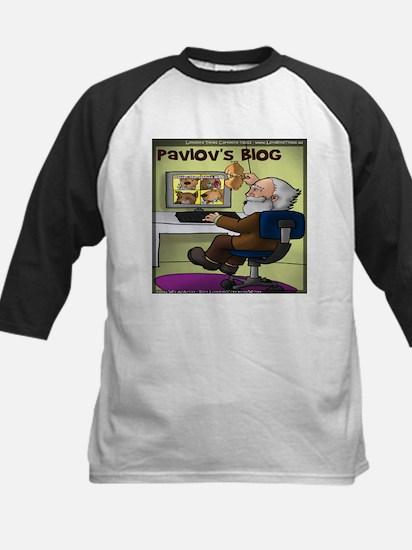 Pavlovs Blog Kids Baseball Jersey