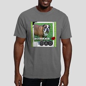English bulldog and dad Mens Comfort Colors Shirt