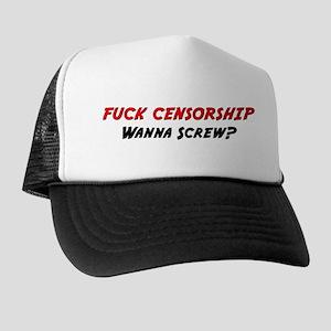 """Fuck Censorship"" Trucker Hat"