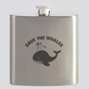 Save the whales Flask