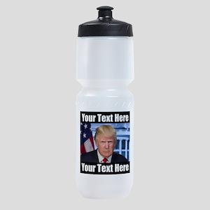 President Donald Trump Meme Sports Bottle