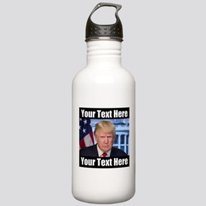 President Donald Trump Meme Water Bottle
