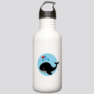 Save the whales Stainless Water Bottle 1.0L