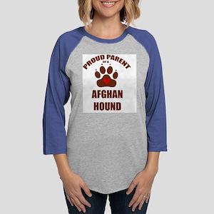 AFGHAN HOUND Womens Baseball Tee