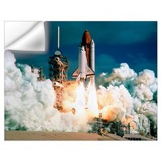 Space Shuttle launch Wall Decal