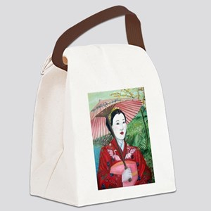 geisha Canvas Lunch Bag