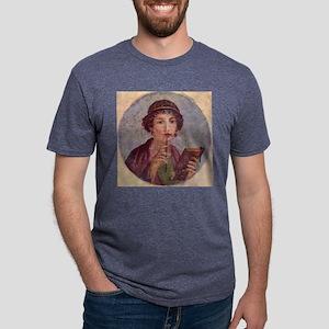 Greek Woman Mens Tri-blend T-Shirt