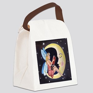 Bed Time Story Canvas Lunch Bag