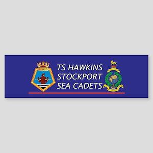 TS Hawkins Bumper Sticker