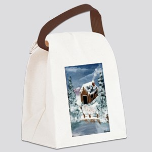 cabinenlarged Canvas Lunch Bag