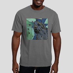 bullfrog clock Mens Comfort Colors Shirt