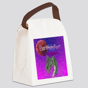 darkrubymoon Canvas Lunch Bag