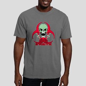 Zombie Apocalypse grn Mens Comfort Colors Shirt