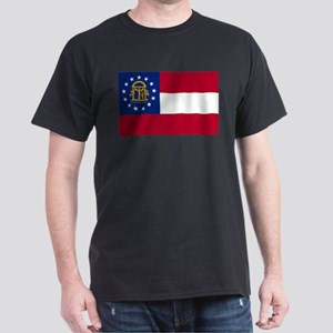 state-flag-of-georgia Dark T-Shirt