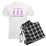Pink Fighters Survivors Taken 2 Men's Light Pajama