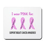 Pink Fighters Survivors Taken 2 Mousepad