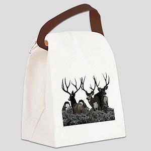 Monster buck deer Canvas Lunch Bag