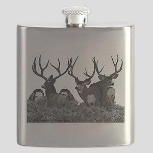 Monster buck deer Flask