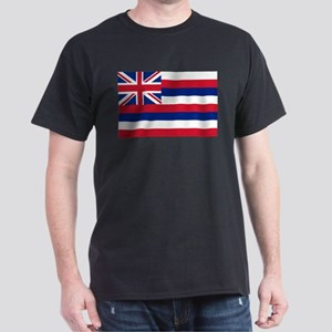 State Flag of Hawaii Dark T-Shirt