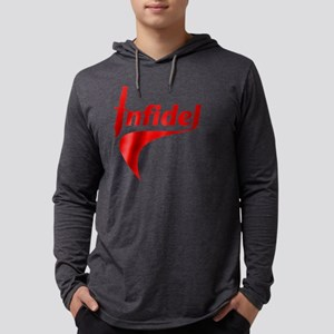 infidelknifered_blk Mens Hooded Shirt