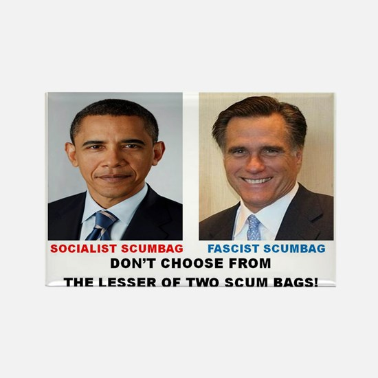 ELECTION 2012, THE LESSER OF TWO SCUM BAGS. Rectan