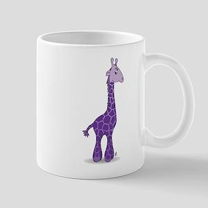 Purple giraffe Mug