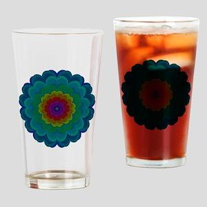 Prisma Blossom Drinking Glass