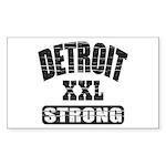 Detroit Strong Sticker (Rectangle 10 pk)