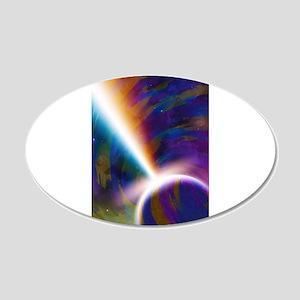 Aurora Planetaris 20x12 Oval Wall Decal