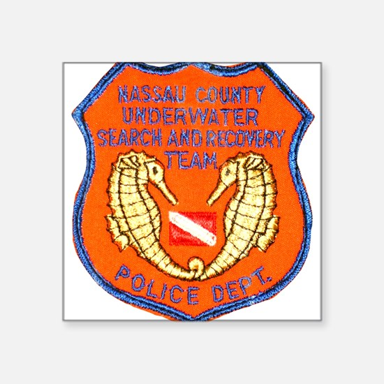 NCPD Diver Rectangle Sticker