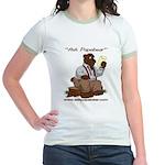 Ask Papabear Jr. Ringer T-Shirt
