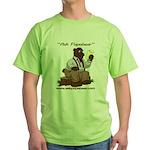 Ask Papabear Green T-Shirt