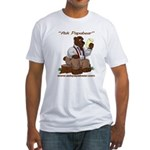 Ask Papabear Fitted T-Shirt