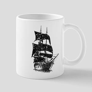 ghost pirate ship Mug