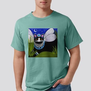 2-FairyPrincessCAT4POSTE Mens Comfort Colors Shirt