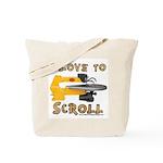 I Love to scroll Tote Bag