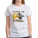 I Love to scroll Women's T-Shirt