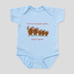 Waddle Gobble Family Infant Bodysuit